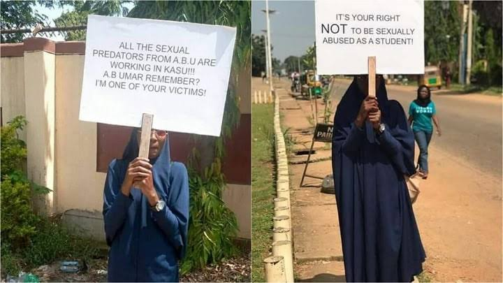 Protest In Kaduna Over Sexual Harassment 1
