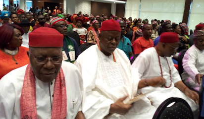 Northern, Southern Leaders Hold Peace Talk In Lagos 4