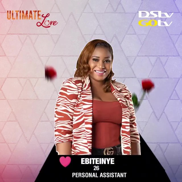 Biography of Ebiteinye a Housemate of the Ultimate Love TV Reality Show Season 1 1
