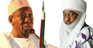 Governor Ganduje And Former Emir Of Kano, Sanusi