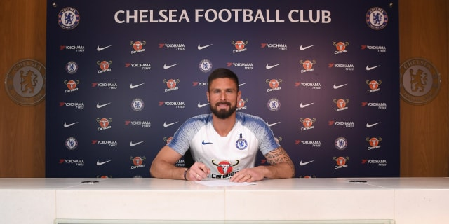 Olivier Giroud Signs 1Yr Contract Extension With Chelsea