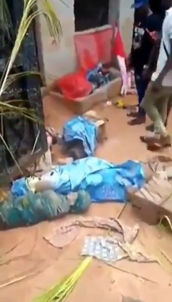 Fetish Objects Uncover At A Church In Anambra 1