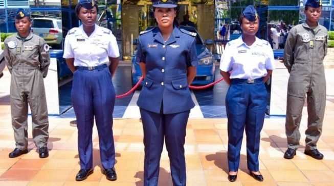 Naf Female Officers