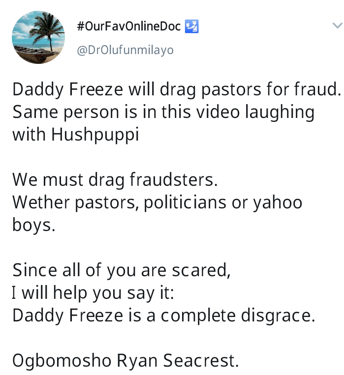Twitter Users Drag Daddy Freeze