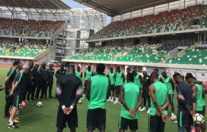 New Face Appears In Super Eagles Technical Crew Meeting 1