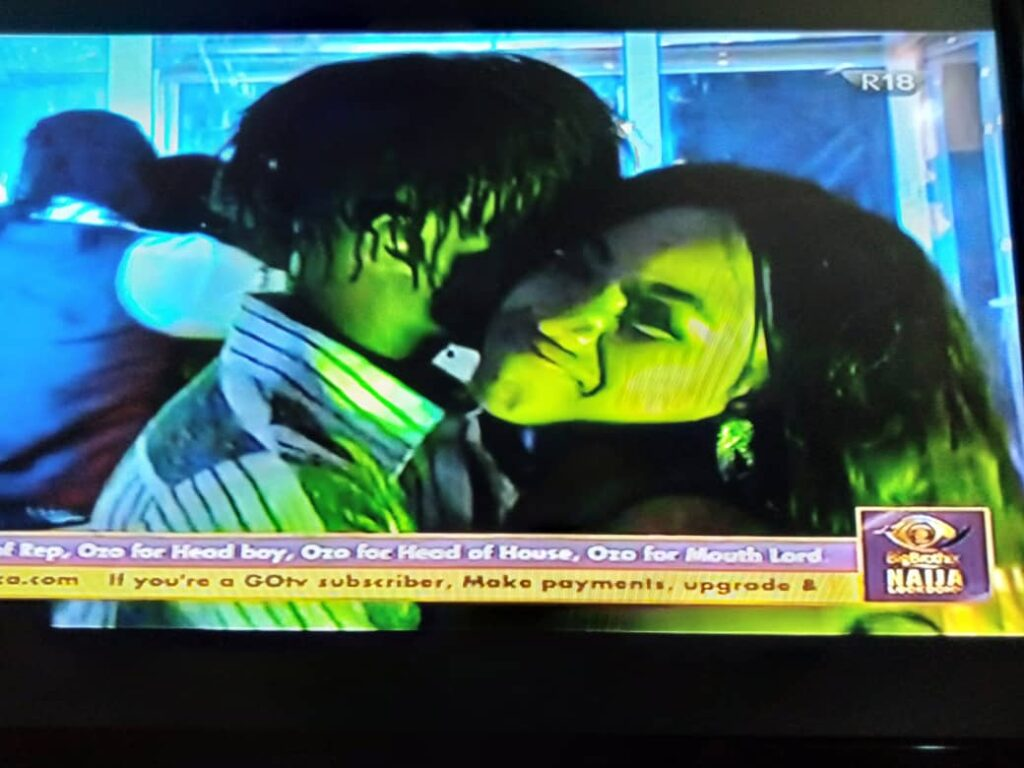 BBNaija 2020: Laycon and Erica Build New Relationship At Saturday Night Party 5