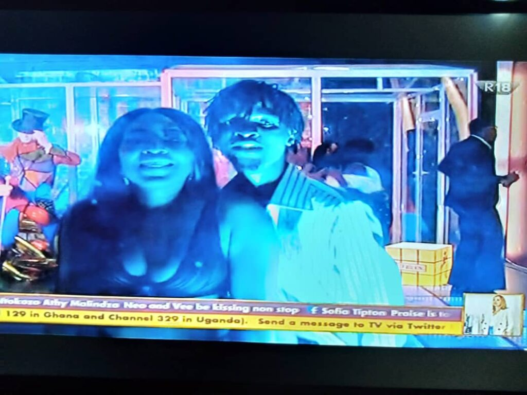 BBNaija 2020: Laycon and Erica Build New Relationship At Saturday Night Party 4