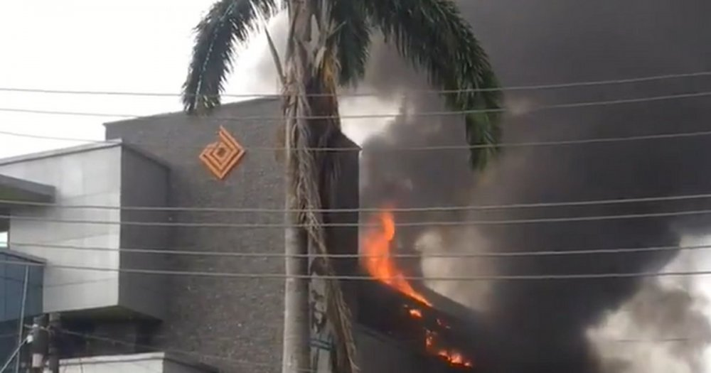 Access Bank Reveals Cause Of Fire Outbreak