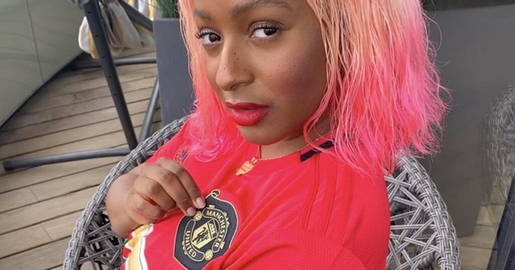 DJ Cuppy supports Manchester United.
