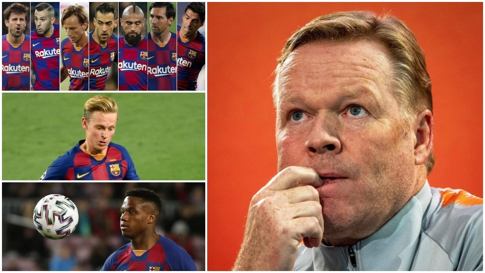 Koeman Points out 4 Big Names in Barca to Leave 1
