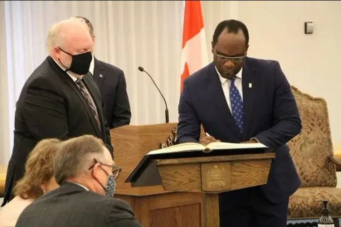 Buhari Reacts As Nigerian-Born Becomes Minister Of Justice In Canada 1