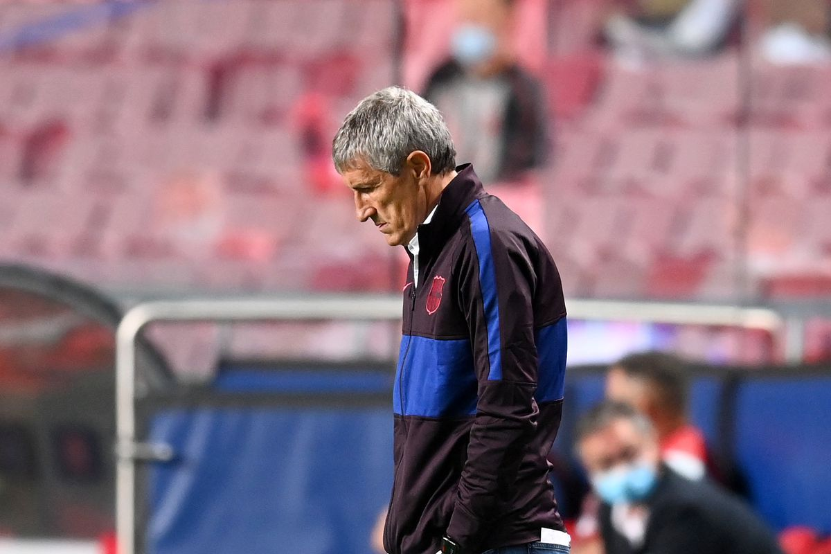Quique Setien To Recieve Sack Later Today