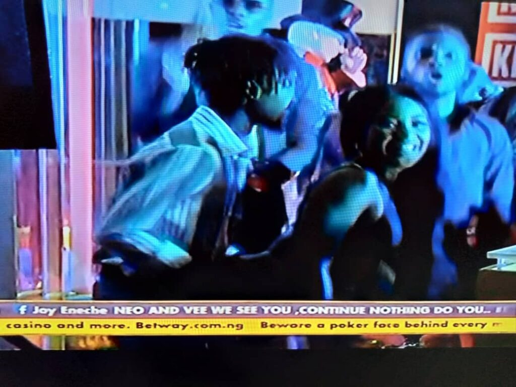 BBNaija 2020: Laycon and Erica Build New Relationship At Saturday Night Party 6