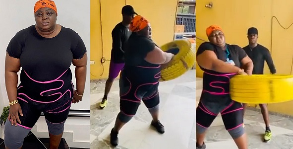 Actress, Eniola Badmus Embarks On Weight Loss Journey 1