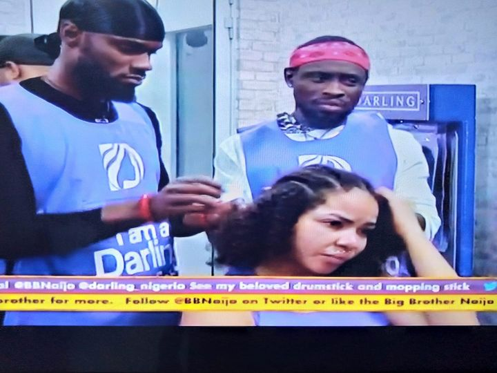 BBNaija 2020: Nengi, Trikytee and Prince,Team Braids Win Millions In TuesdaySponsored Task 1