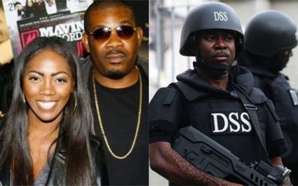 Don Jazzy, Tiwa Savage allegedly taken in by DSS.