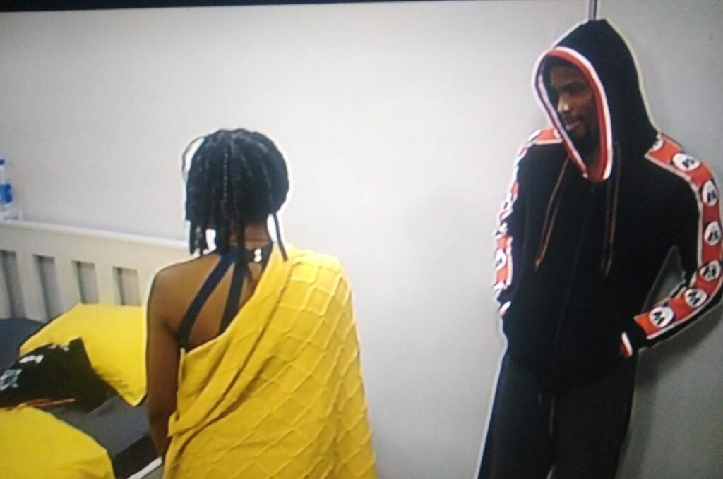 BBNaija 2020 :  I Am Done With You - Neo Fires At Vee 2