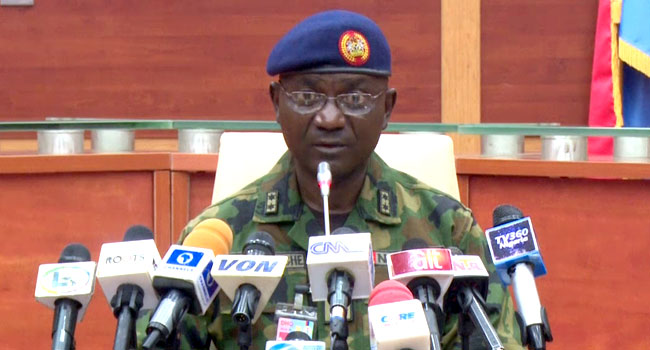 Nigerian Army Reacts To Alleged Plan By Boko Haram To Attack FCT & Environs 1