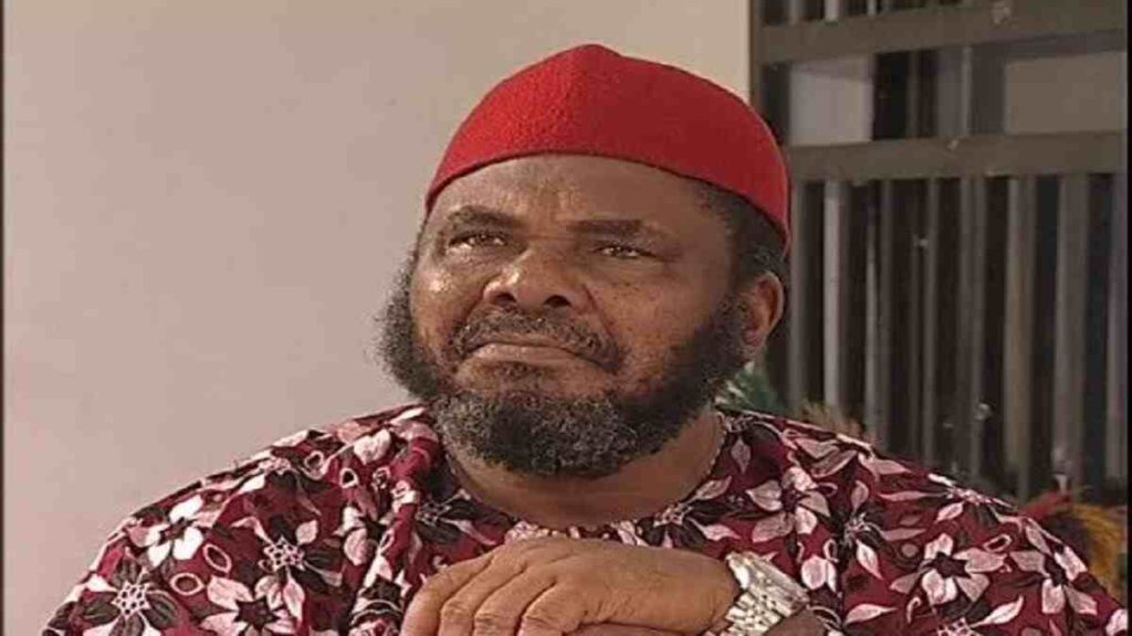 Nollywood legendary actor, Pete Edochie