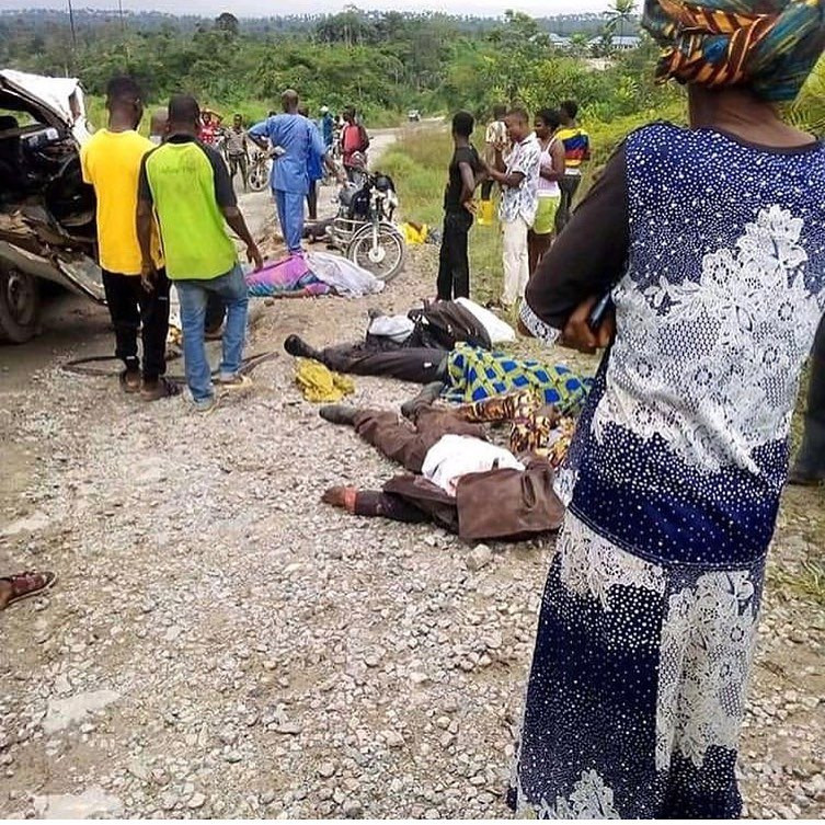 Accident Claims Lives Of 11 Passengers Travelling For Funeral In Calabar