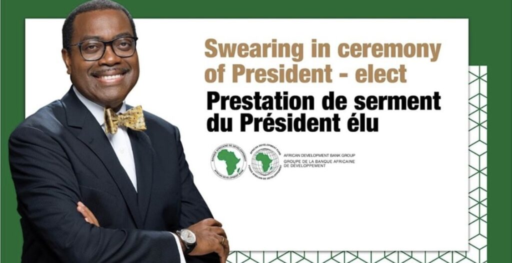 AfDB: Adesina To Be Sworn-In For Another 5-Years Term