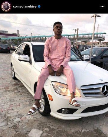 Comedian Ebiye Called Out Over Buying Benz On Credit 1