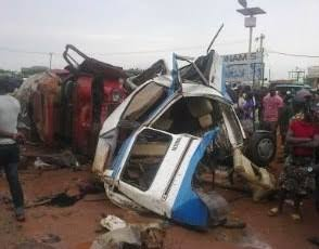 Children, Others, Die As Bus Collides With Trailer 2