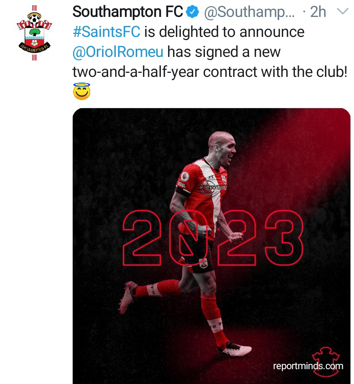 Oriol Romeu Signs 2-And-Half-Years Contract Extension 1