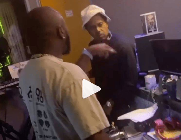 A Video Of Davido With Nas In Studio Became Viral Months Ago