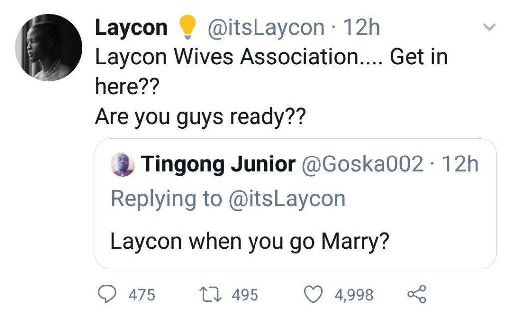 Laycon Calls Out &Quot;Laycon Wives Association&Quot; Members 1
