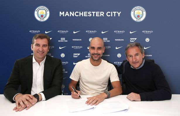 Pep Guardiola Decides His Future With Manchester City 1