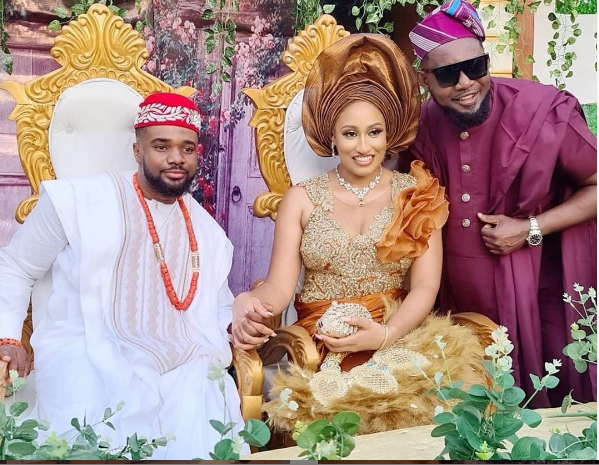 Williams Uchemba Ties Knot With Girlfriend (See Photo) 1