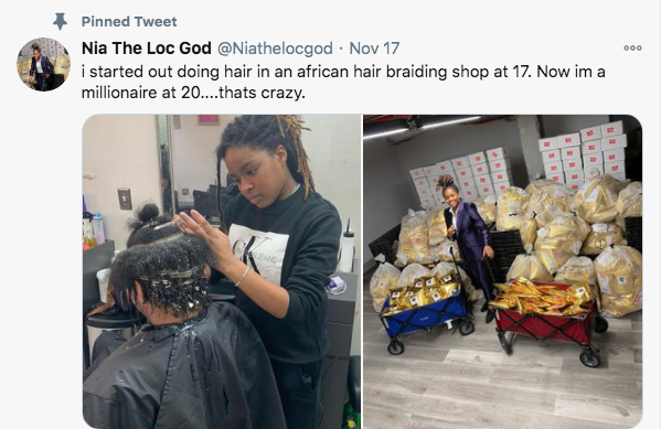 20-Year-Old Millionaire Hairdresser Shares Her Success Story 3