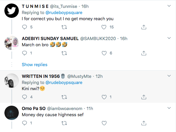 Rudeboy In Social Media Situation, After Wrong Spelling 1