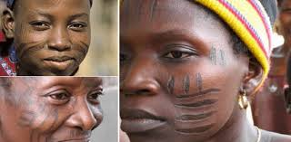 Some Tribal Marks In Nigerian Culture