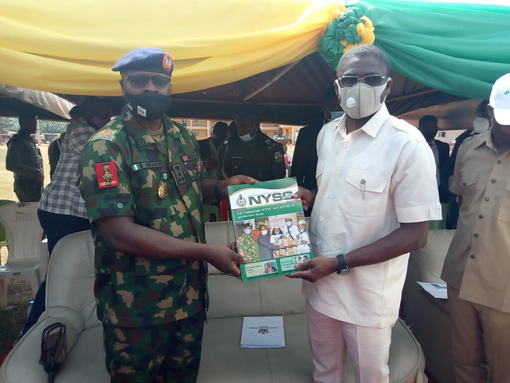 Dg Tasks Corps Members On Covid-19 Safety Protocols 2