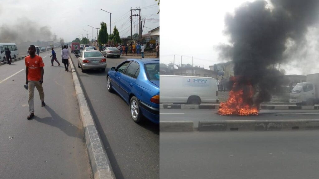 Pictures From Okada Riders' Protest