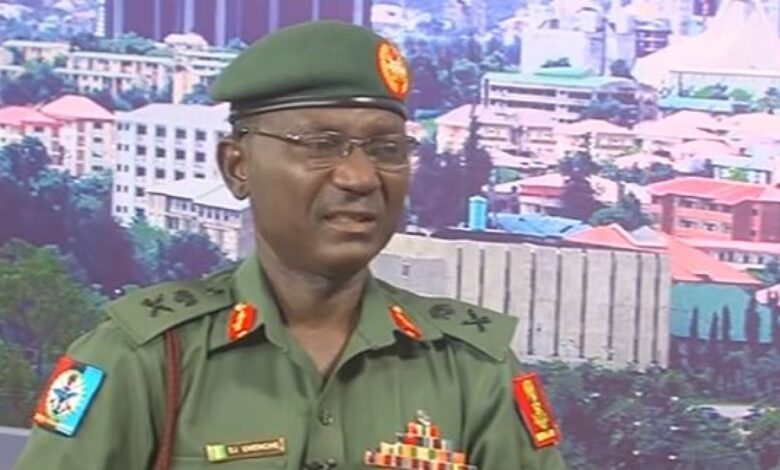 The Spokesman, Defence Headquarters, Major General John Eneche