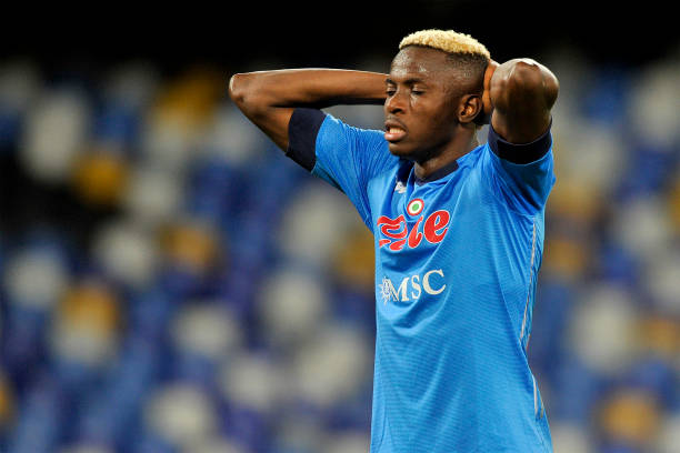 Victor Osimhen Ruled Out Of Napoli Europa Clash