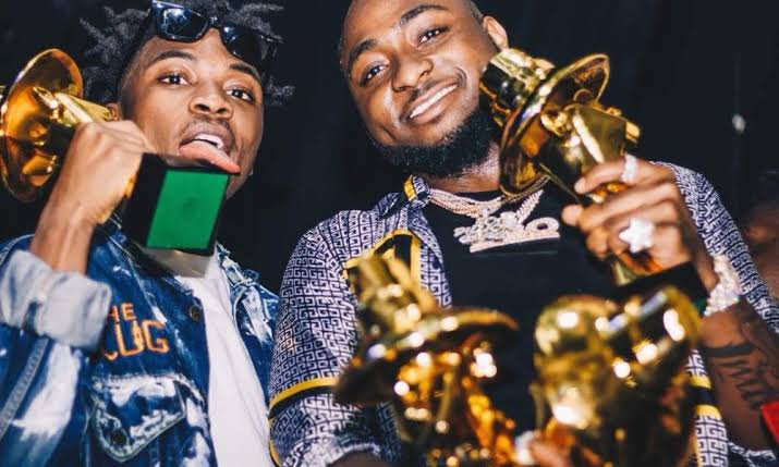 Davido Reacts To Mayorkun'S Nomination As Artiste Of The Year