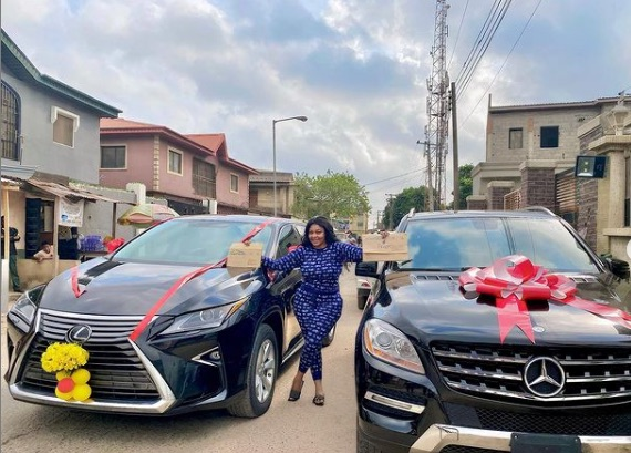 Biodun Okeowo Flaunts Two New Cars