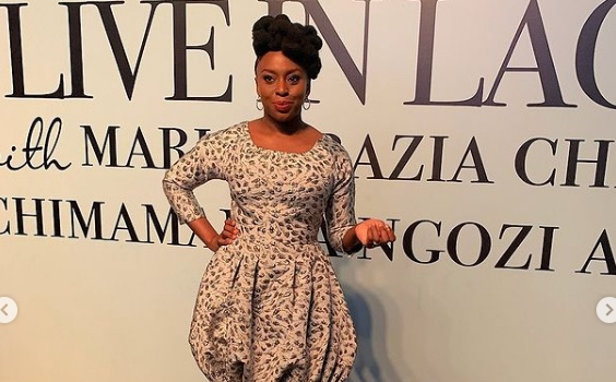 Chimamanda Makes Revelation About Her Name