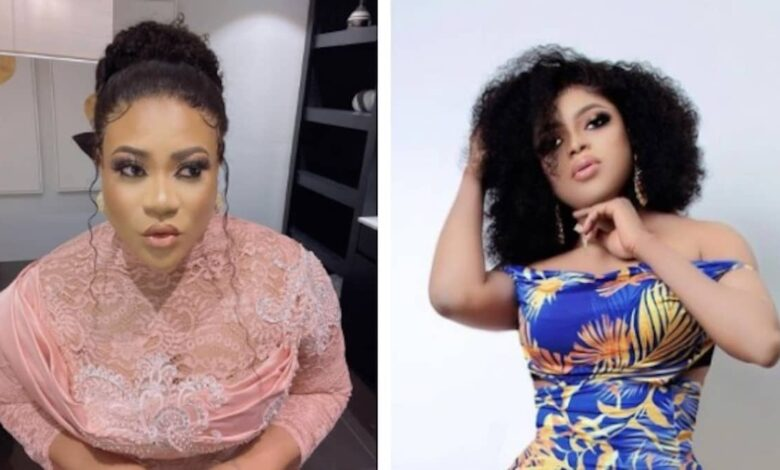 Bobrisky And Nkechi Blessing Bury Hatchet