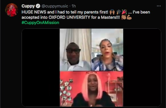 Dj Cuppy Makes Parents Proud With New Feat 1
